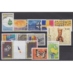French Andorra - 1995 - Nb 454/466