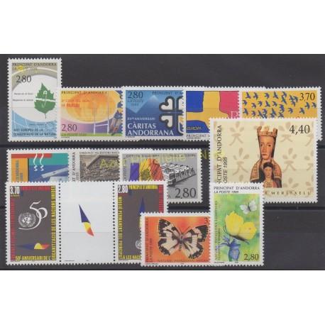 French Andorra - 1995 - Nb 454/466