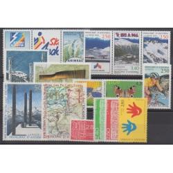 Andorre - Année complète - 1993 - No 425/440