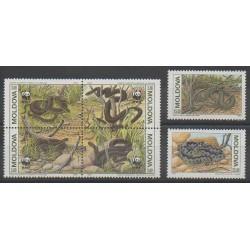 Moldavie - 1993 - No 44/49 - Reptiles