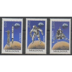 Moldova - 1994 - Nb 96/98 - Space - Europa