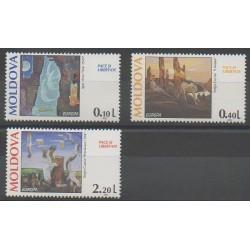 Moldavie - 1995 - No 135/137 - Europa