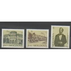Moldavie - 1997 - No 205/207 - Service postal