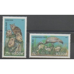 Moldavie - 1998 - No 253/254 - Oiseaux