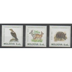 Moldova - 1995 - Nb 129/131 - Animals