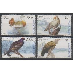 Moldavie - 2007 - No 514/517 - Oiseaux