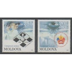 Moldova - 1999 - Nb 298/299 - Chess