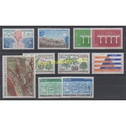 Andorre - Année complète - 1984 - No 327/336