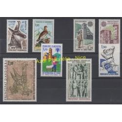 Andorre - Année complète - 1979 - No 274/281