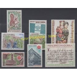 Andorre - Année complète - 1978 - No 267/273