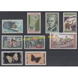 Andorre - Année complète - 1976 - No 251/259