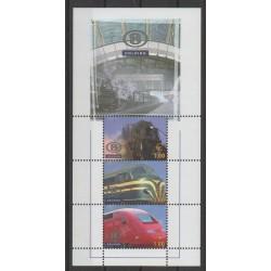 Belgique - 2006 - No CP518/CP520 - Chemins de fer