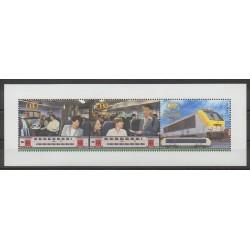 Belgique - 2004 - No CP504/CP506 - Chemins de fer