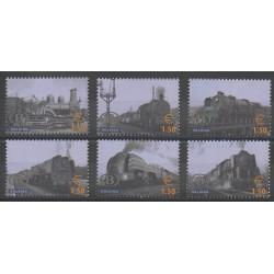 Belgique - 2006 - No CP521/CP526 - Chemins de fer