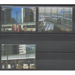 Belgique - 2005 - No CP513/CP515 - Chemins de fer