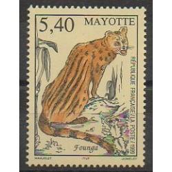 Mayotte - Poste - 1999 - No 76 - Mammifères