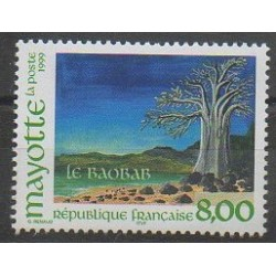 Mayotte - Post - 1999 - Nb 75 - Trees