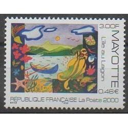 Mayotte - Poste - 2000 - No 84
