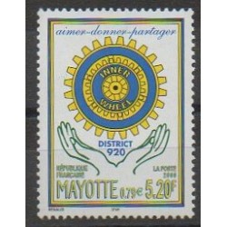 Mayotte - Post - 2000 - Nb 83 - Rotary