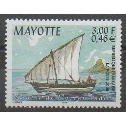 Mayotte - Poste - 2000 - No 81 - Navigation