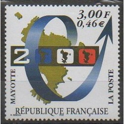 Mayotte - Post - 1999 - Nb 80