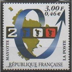 Mayotte - 1999 - No 80