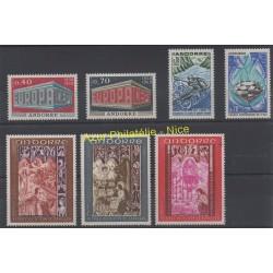 Andorre - Année complète - 1969 - No 194/200