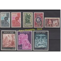 Andorre - Année complète - 1967 - No 179/186