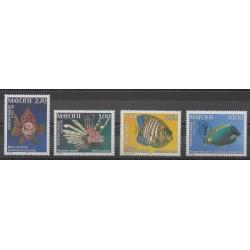 Mayotte - Post - 1999 - Nb 71/74 - Sea animals