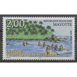 Mayotte - 1998 - Nb 59 - Boats