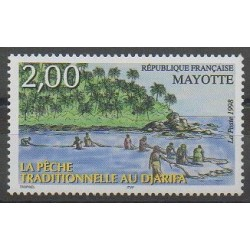 Mayotte - Poste - 1998 - No 59 - Navigation