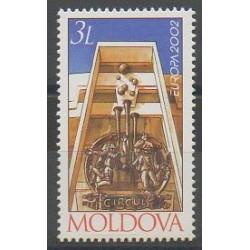 Moldova - 2002 - Nb 373 - Circus - Europa