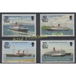 Man (Isle of) - 1993 - Nb 591/594 - Boats