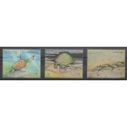 Mayotte - Poste - 2006 - No 184/186 - Reptiles