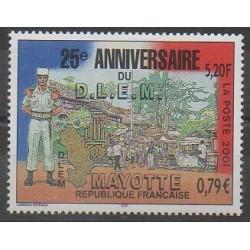 Mayotte - Poste - 2001 - No 103