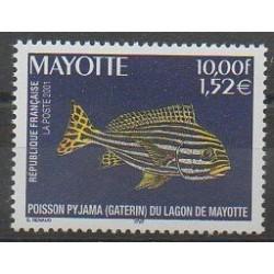 Mayotte - 2001 - Nb 102 - Sea animals