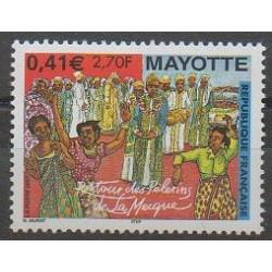 Mayotte - 2001 - Nb 100 - Religion