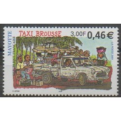 Mayotte - Poste - 2001 - No 99 - Transports
