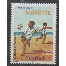Mayotte - Post - 2001 - Nb 101 - Football