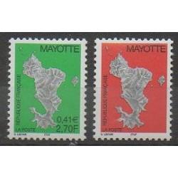 Mayotte - Post - 2001 - Nb 96/97
