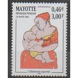 Mayotte - Poste - 2001 - No 98 - Santé ou Croix-Rouge