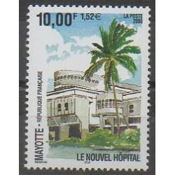 Mayotte - Poste - 2000 - No 91 - Santé ou Croix-Rouge