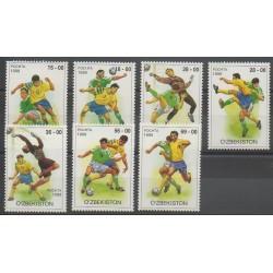 Uzbekistan - 1999 - Nb 153/159 - Football