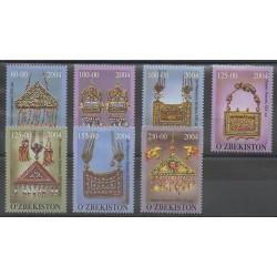 Uzbekistan - 2004 - Nb 470/476 - Art