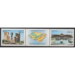 Uzbekistan - 2010 - Nb 752/753 - Monuments