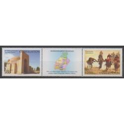Ouzbékistan - 2012 - No 906/907 - Sites