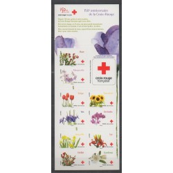 France - Booklets - 2014 - Nb BC989 - Health - Flowers