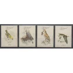 Portugal (Madère) - 1987 - No 116/119 - Oiseaux