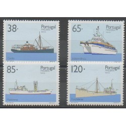 Portugal (Madeira) - 1992 - Nb 165/168 - Boats