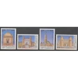 Uzbekistan - 1997 - Nb 92/95 - Monuments
